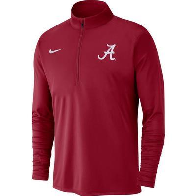 Alabama Nike Men's Dry Pacer Quarter Zip Pullover
