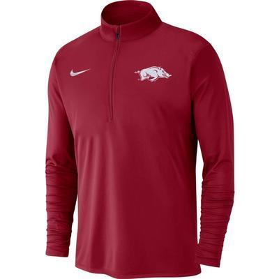 Arkansas Nike Men's Dry Pacer Quarter Zip Pullover