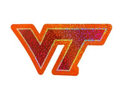 Virginia Tech Shimmer Decal
