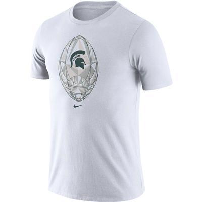 Michigan State Nike Men's Legend Modern Football Short Sleeve Tee