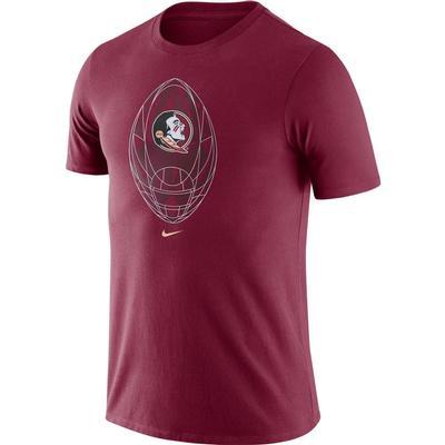 Florida State Nike Men's Legend Modern Football Short Sleeve Tee
