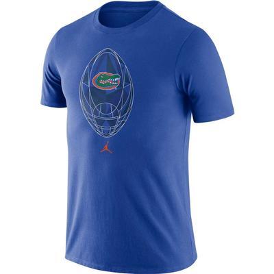 Florida Nike Men's Jordan Brand Legend Modern Football Short Sleeve Tee