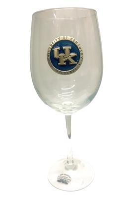 Kentucky Heritage Pewter Large Wine Glass