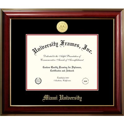 Miami Classic with Medallion Diploma Frame