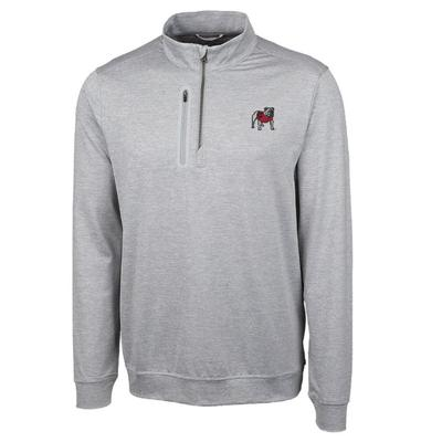 Georgia Cutter and Buck Stealth 1/2 Zip Pullover