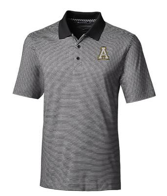 Appalachian State Cutter and Buck Forge Tonal Stripe Polo