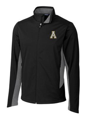 Appalachian State Cutter and Buck Navigate Soft Shell Jacket