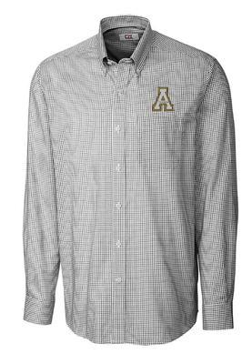 Appalachian State Cutter and Buck Men's Tattersall Dress Shirt
