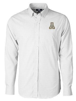 Appalachian State Cutter and Buck Men's Versatech Tattersall Dress Shirt