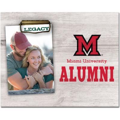 Miami Legacy Alumni Memento Photo Holder