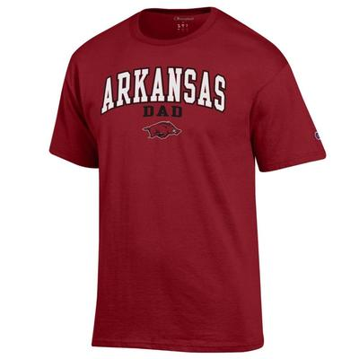 Arkansas Champion Arch Dad Tee