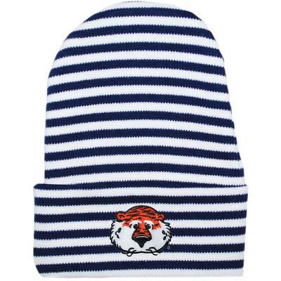 Auburn Infant Creative Knitwear Aubie Striped Knit Cap