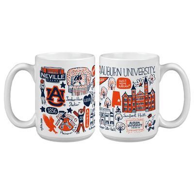 Auburn Tigers Julia Gash 15oz Grande Mug
