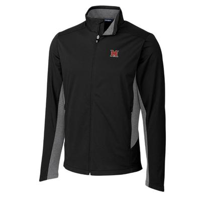 Miami Cutter and Buck Men's Navigate Soft Shell Jacket