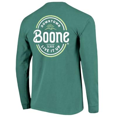 Boone Mural Long Sleeve Comfort Colors Tee