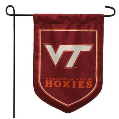 Virginia Tech Shield Garden Flag