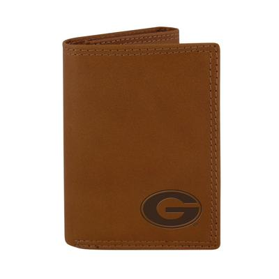 Georgia Zeppro Embossed Trifold Wallet