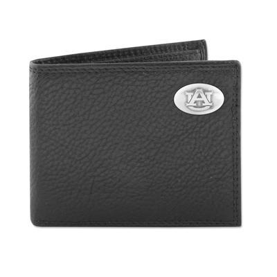 Auburn Zeppro Bifold with Concho Wallet