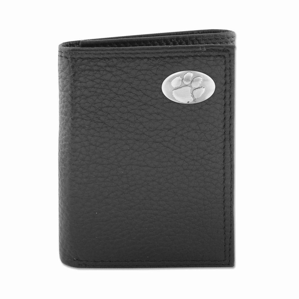 Clemson Zeppro Trifold With Concho Wallet
