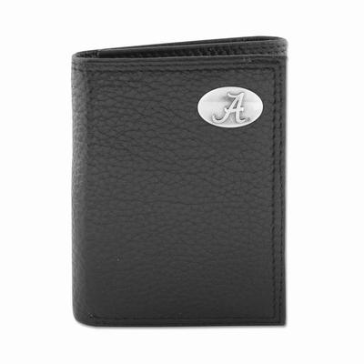 Alabama Zeppro Trifold with Concho Wallet