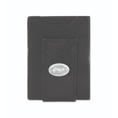 Arkansas Zeppro Front Pocket Wallet with Concho