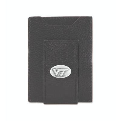 Virginia Tech Zeppro Front Pocket Wallet with Concho