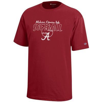Alabama Champion Youth Softball Tee