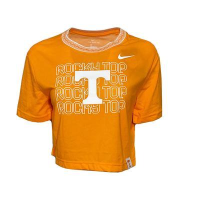Tennessee Nike Women's Slub Crop Tee