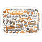 Tennessee Vols Julia Gash 14 Inch Serving Platter