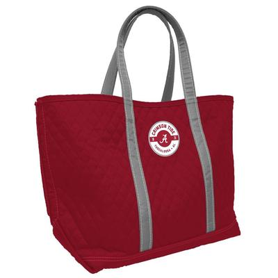 Alabama 24 X 15 Quilted Merit Tote