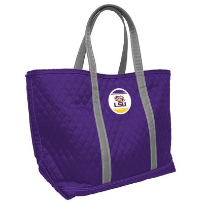 LSU 24 X 15 Quilted Merit Tote
