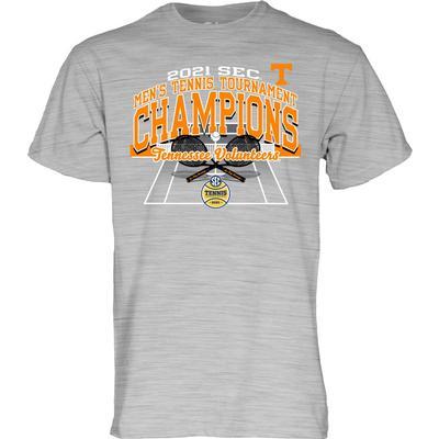 Tennessee 2021 SEC Men's Tennis Tournament Champions Tee