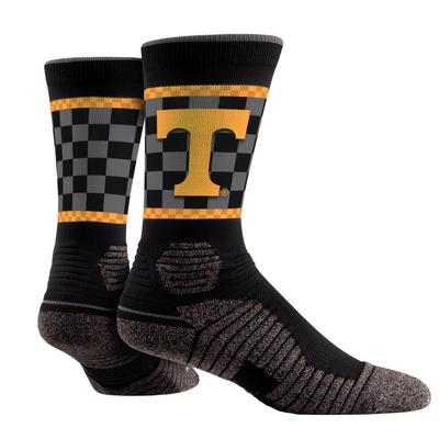 Tennessee Checkerboard Print Performance Sock