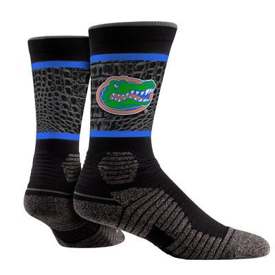 Florida Gator Skin Print Performance Sock
