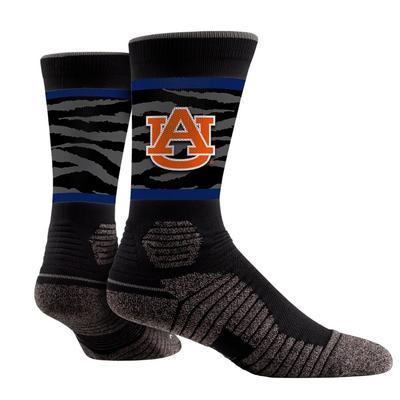 Auburn Tribal Print Performance Sock