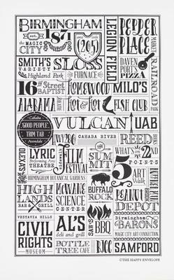 The Happy Envelope Birmingham City Print
