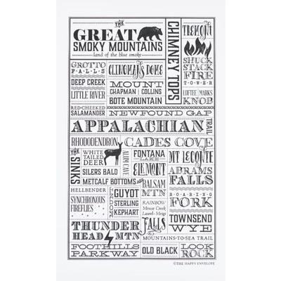 The Happy Envelope Smoky Mountains Print