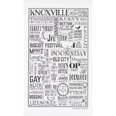 The Happy Envelope Knoxville City Print