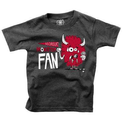 Georgia Toddler Monster Fan Short Sleeve Tee