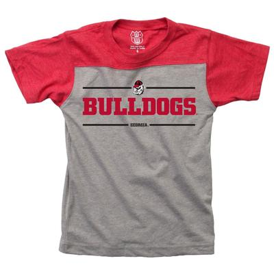 Georgia Kids Bulldogs Short Sleeve Tee
