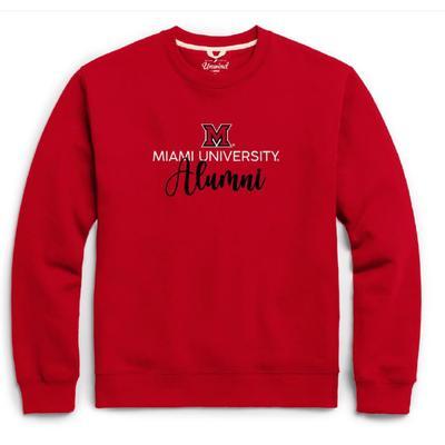 Miami League Essential Fleece Alumni Crew