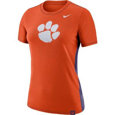 Clemson Nike Women's Breath Short Sleeve Tee