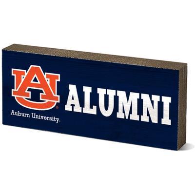 Auburn Legacy Alumni Mini Table Block