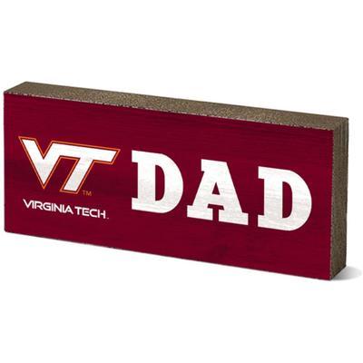 Virginia Tech Legacy Dad Mini Table Block