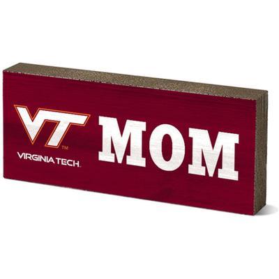 Virginia Tech Legacy Mom Mini Table Block
