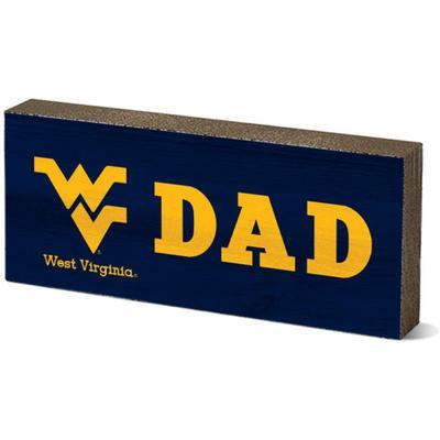 West Virginia Legacy Dad Mini Table Block