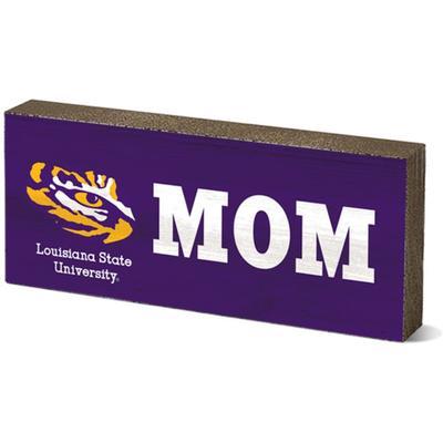 LSU Legacy Mom Mini Table Block