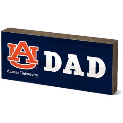 Auburn Legacy Dad Mini Table Block