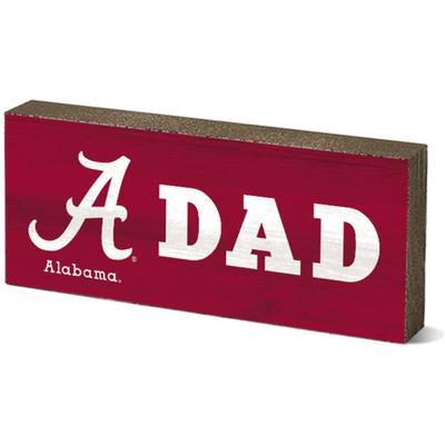 Alabama Legacy Dad Mini Table Block