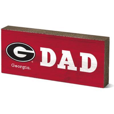 Georgia Legacy Dad Mini Table Block